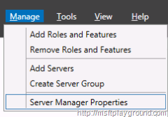 Server-Manager---Manage-Menu