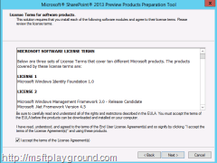 SharePoint-2013---Prerequisites---License-Terms