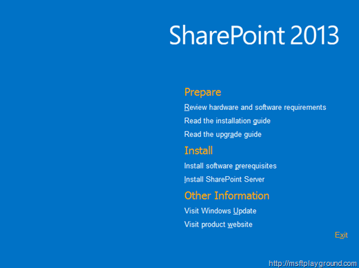 SharePoint 2013 Splash
