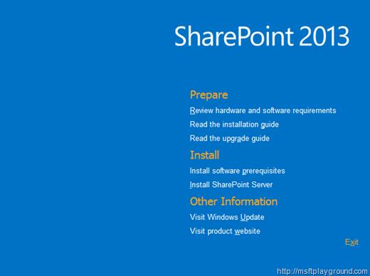 SharePoint 2013 Splash