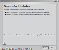 SharePointProductsConfigurationWizard