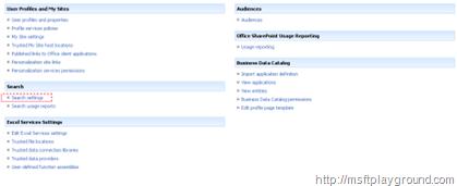 sharedserviceprovider
