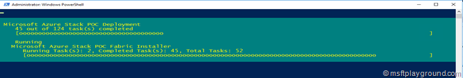 Installation Azure Stack