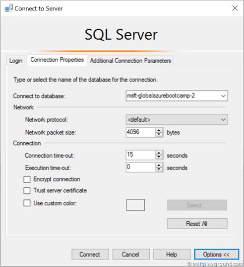 Initial Database