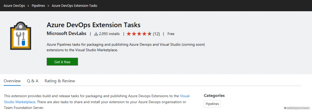 Azure DevOps Extension Task