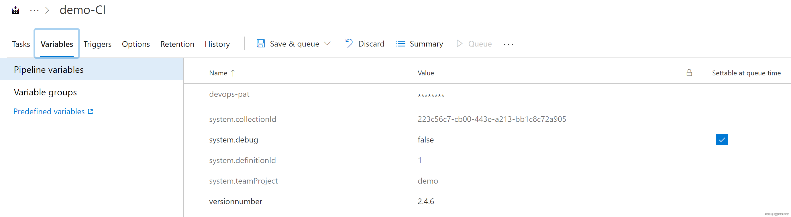Version number counter for Azure DevOps - Microsoft Playground