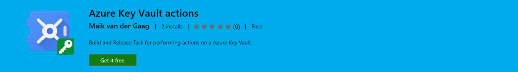 Azure Key Vault Actions